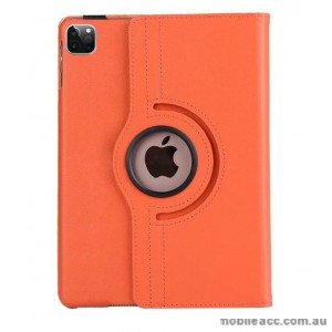 360 Degree Rotating Case for Apple iPad Pro 12.9 inch 2020  Orange