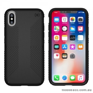 ORIGINAL Speck Presidio GRIP Shockproof Case For iPhone X - Black
