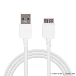 2m Micro USB 3.0 Charge & Sync Data Cable - White