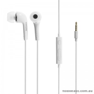 Original Samsung Stereo Headset - White