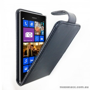 Synthetic Leather Flip Pouch Case Cover for Nokia Lumia 925