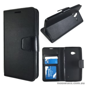 Standard TPU In Wallet Case for Microsoft Lumia 640 XL - Black