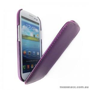 Melkco Slim Flip Case for Samsung Galaxy S3 - Purple