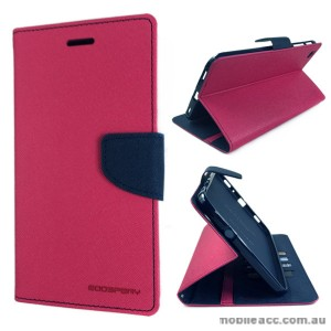 Korean Mercury Fancy Diary Wallet Case Samsung Galaxy Tab 3 8.0 - Hot Pink
