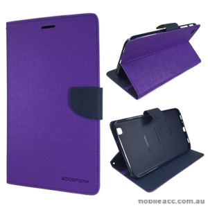 Korean Mercury Fancy Diary Wallet Case Samsung Galaxy Tab 3 8.0 - Purple
