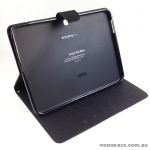 Mercury Goospery Fancy Diary Case for Samsung Tab 3 10.1 - Black