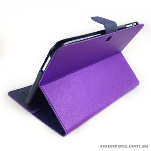 Mercury Goospery Fancy Diary Case for Samsung Tab 3 10.1 - Purple