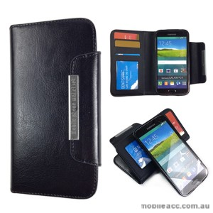 Detachable 2 in 1 Magnetic Absorbed Wallet Case for Samsung Galaxy S5