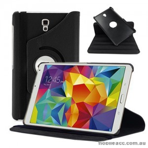 360 Degree Rotating Case for Samsung Galaxy Tab S 8.4 - Black