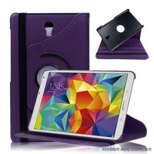 360 Degree Rotating Case for Samsung Galaxy Tab S 8.4 - Purple