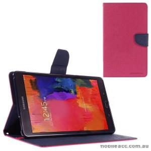 Mercury Goospery Fancy Diary Wallet Case for Samsung Galaxy Tab S2 8.0 Hot Pink