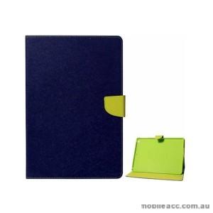 Mercury Goospery Fancy Diary Wallet Case for Samsung Galaxy Tab S 10.5 Blue