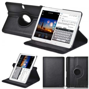 360 Degree Rotating Case for Samsung Galaxy Tab Pro 10.1 - Black
