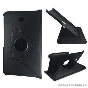 360 Degree Rotating Case for Samsung Galaxy Tab 4 8.0 - Black