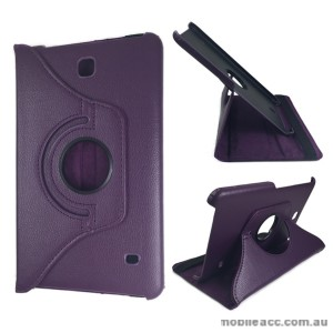 360 Degree Rotating Case for Samsung Galaxy Tab 4 8.0 - Purple