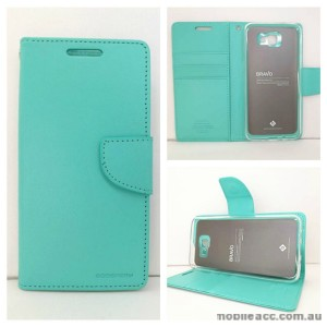 Mercury Goospery Bravo Diary Wallet Case For Samsung Galaxy J5 Prime - Mint