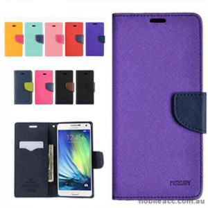 Korean Mercury Wallet Case for Galaxy J1 2016 - Green