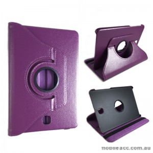 360 Degree Roatating Case for Samsung Galaxy Tab S2 8.0 Purple