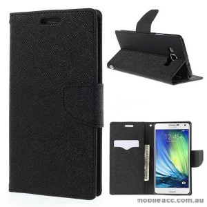 Wisecase Wallet Case for Samsung Galaxy A7 Black