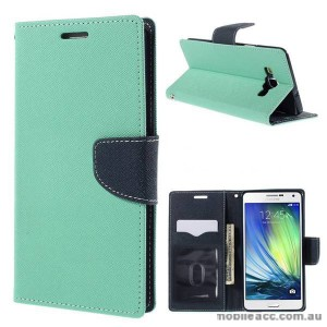 Wisecase Wallet Case for Samsung Galaxy A7 Green