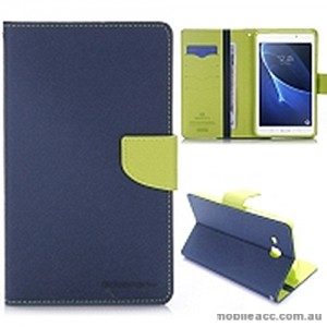 Mercury Goospery Fancy Diary Wallet Case Cover For Samsung Galaxy Tab A 7.0 2016 - Navy