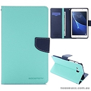 Mercury Goospery Fancy Diary Wallet Case Cover For Samsung Galaxy Tab A 7.0 2016 - Mint Green