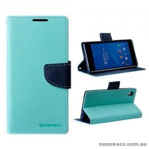 Mercury Goospery Fancy Diary Wallet Case for Sony Xperia Z2 - Green