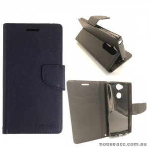 Mooncase Stand Wallet Case For Sony Xperia XA2 Ultra - Black