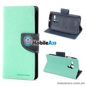 Mercury Goospery Wallet Case Cover for Motorola Moto G - Mint
