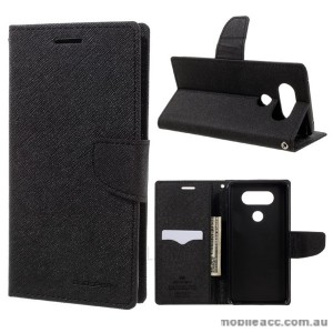Korean Mercury Fancy Dairy Wallet Case For LG V20 Black
