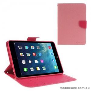Mercury Goospery Fancy Diary Case for iPad Mini / iPad Mini 2 - Pink