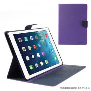 Mercury Goospery Fancy Diary Case for iPad Mini / iPad Mini 2 - Purple