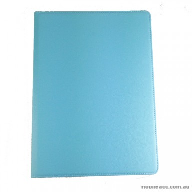 360 Degree Rotating Case for Apple iPad Pro 12.9 inch 2015 2016 Version  Light Blue