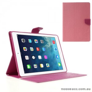 Mercury Goospery Fancy Diary Case for Apple iPad Air - Pink