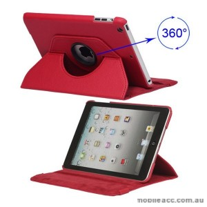 360 Degree Rotating Case for iPad mini / iPad mini 2 - Red x2