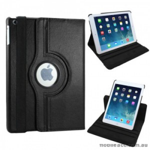 360 Degree Rotary Flip Case for iPad Air 2 - Black