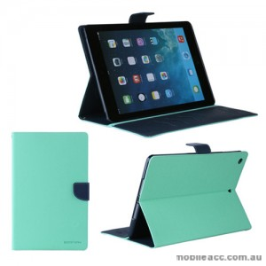 Korean Mercury Fancy Diary Case for iPad Air 2 - Green