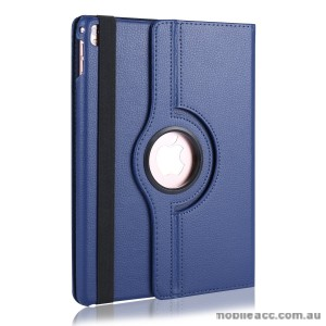 360 Degree Rotating Case for Apple iPad Pro 9.7 inch Navy + SP