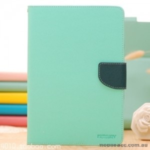Korean Mercury Fancy Diary Wallet Case Cover for iPad Pro 9.7 Inch Mint Green+ SP
