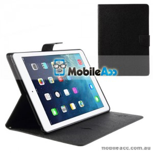 Korean Mercury Fancy Diary Case for iPad Mini 3 - Black