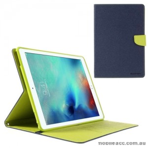 Mercury Goospery Fancy Diary Case For Apple New iPad 9.7 - Navy