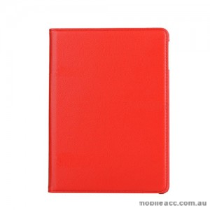 360 Degree Rotating Case for Apple New iPad 9.7(2017) - Red