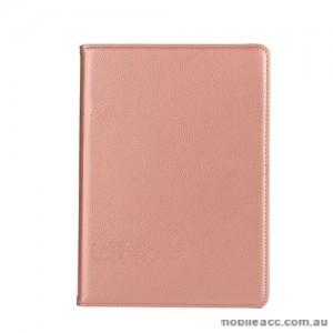 360 Degree Rotating Case for Apple New iPad 9.7(2017) - Rose Gold