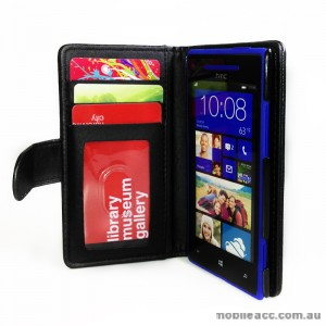 Synthetic Leather Wallet Case for HTC Windows Phone 8X