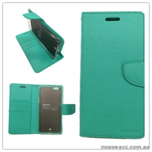 Mercury Goospery Bravo Diary Wallet Case For Oppo F1s - Mint Green