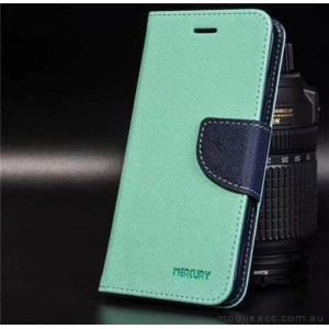 Korean Mercury Fancy Diary Wallet Case For Oppo R11 - Mint