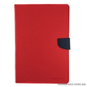 Korean Mercury Fancy Diary Case Cover for Samsung Galaxy Tab A 8.0 2016  Red