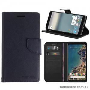 Mooncase Stand Wallet Case For Telstra Google Pixel 2 - Black