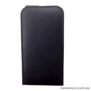 Synthetic Leather Flip Case for Telstra 4GX Buzz Black