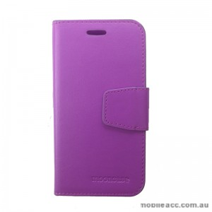 Synthetic Leather Wallet Telstra 4GX Buzz Purple